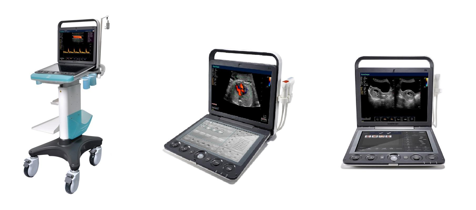 Echographe Doppler Couleur Portable Tactile SonoScape S9